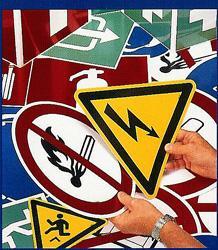 Signalisation sécurité travail