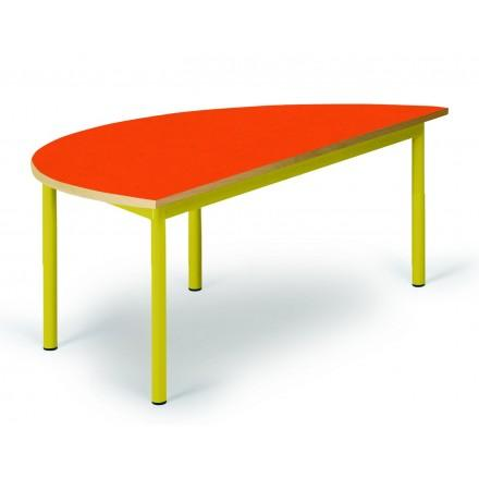 Table maternelle demi-lune noa