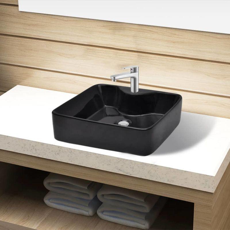 Mobiliers de salle de bain vidaxl achat vente de for Robinet pour vasque de salle de bain