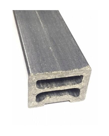 lambourde terrasse bois composite l 200 cm l 5 cm e 3cm noir mccover comparer les. Black Bedroom Furniture Sets. Home Design Ideas