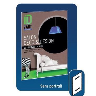 porte affiche mural vertical a5 rigide et adh sif comparer les prix de porte affiche mural. Black Bedroom Furniture Sets. Home Design Ideas