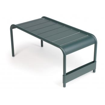 Table basse d 39 exterieur luxembourg fermob vert cedre for Table exterieur tridome