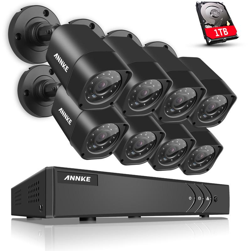 cam ra de vid osurveillance annke achat vente de cam ra de vid osurveillance annke. Black Bedroom Furniture Sets. Home Design Ideas