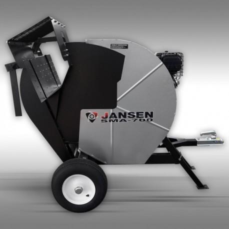 Scie thermique tractable 13cv avec demarreur jansen - j1055006