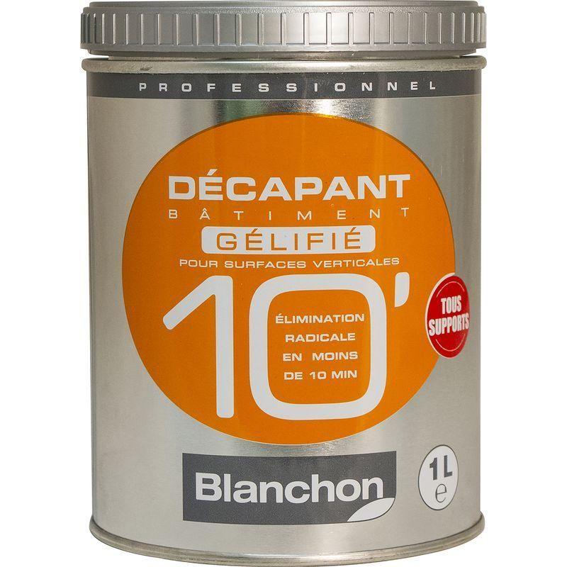 DÉCAPANT BÂTIMENT BLANCHON GÉLIFIÉ 10MIN 1L