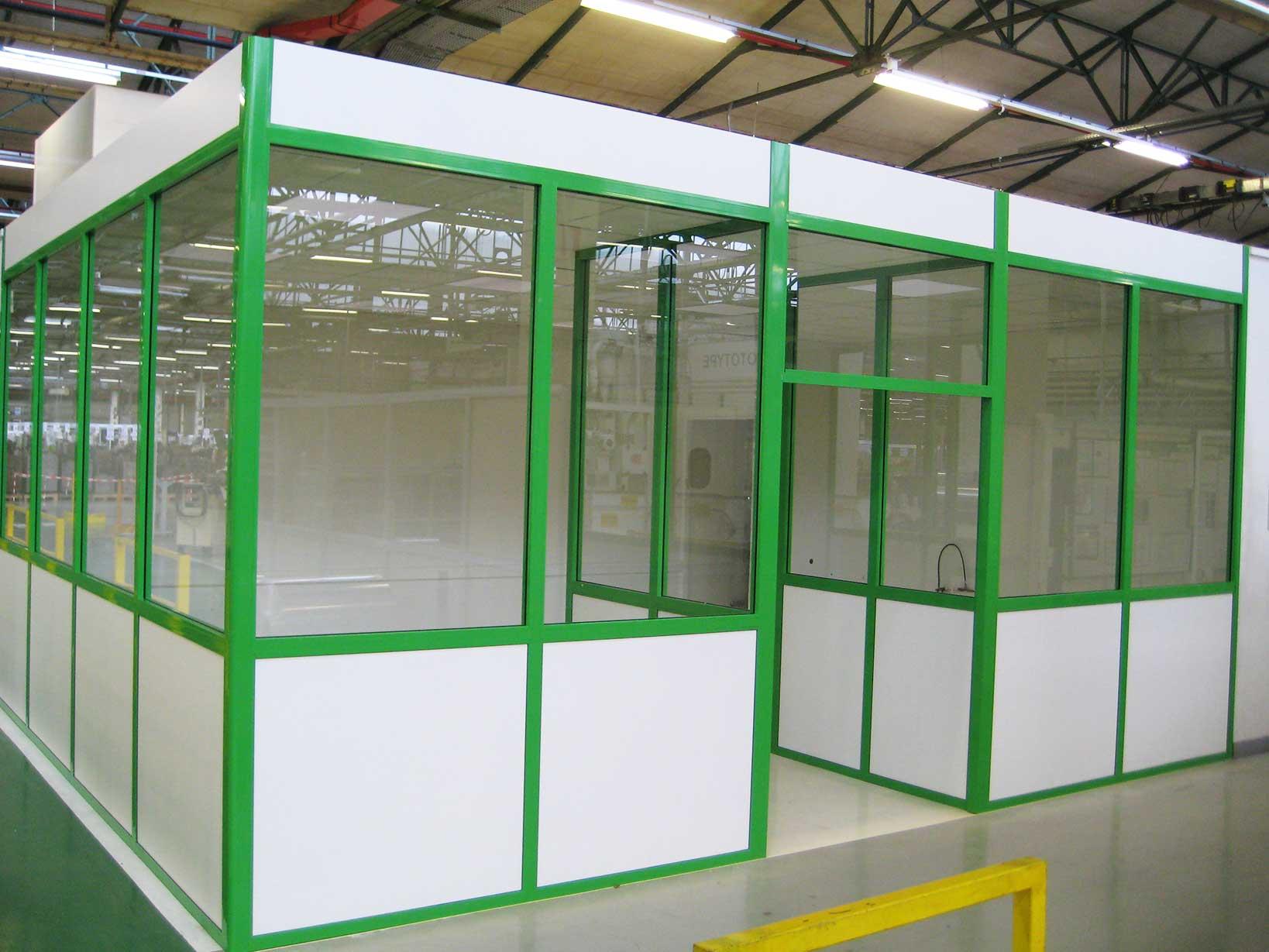 Cloison acoustique industrielle tous les fournisseurs for Cloison industrielle vitree