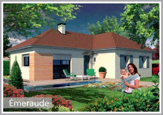 Habitations completes modele de maison emeraude for Maison emeraude