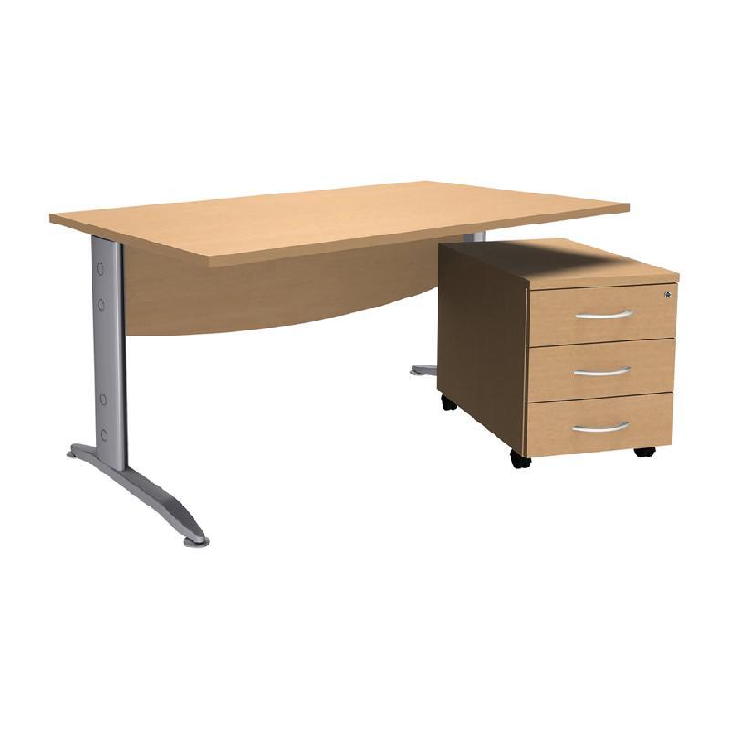 caisson bureau metal excellent fabuleux caisson de bureau. Black Bedroom Furniture Sets. Home Design Ideas