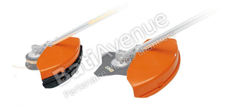 STIHL- CAPOT DE PROTECTION STIHL COMPLET POUR OUTIL FIL ET METALLIQUE Ø 420MM - 41190071027