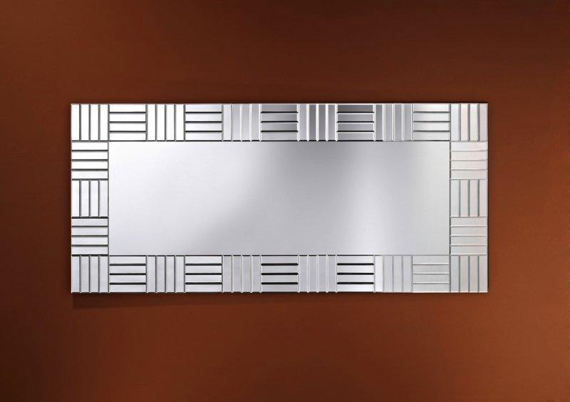 Strummer miroir mural design en verre inside75 for Miroirs decoratifs design
