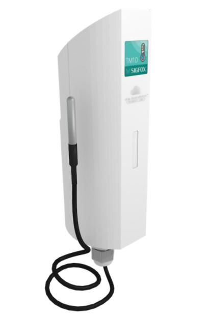 ACW/LW8-TM1  - MODEM 868MHZ 25MW - IP65 - RAIL DIN - ANTENNE INTÉGRÉE - SUR PILE
