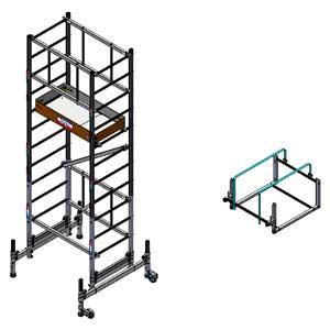 equipements pour chafaudage comparez les prix pour. Black Bedroom Furniture Sets. Home Design Ideas