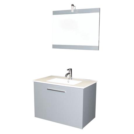 Mobiliers de salle de bain cps s lection achat vente - Meuble salle de bain gris clair ...