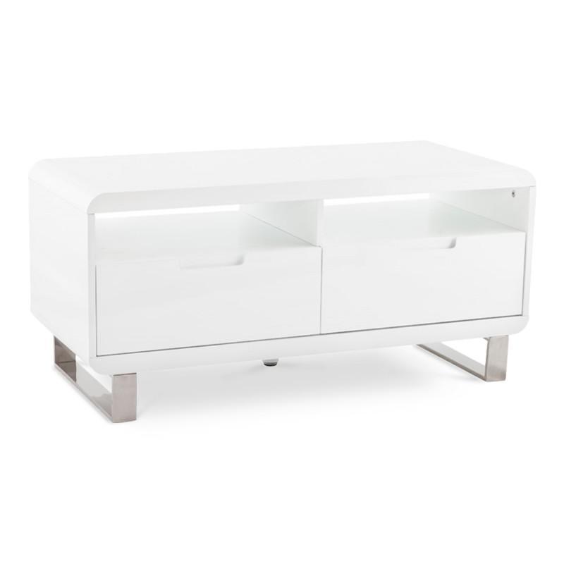 Meubles tv comparez les prix pour professionnels sur for Laque meuble bois