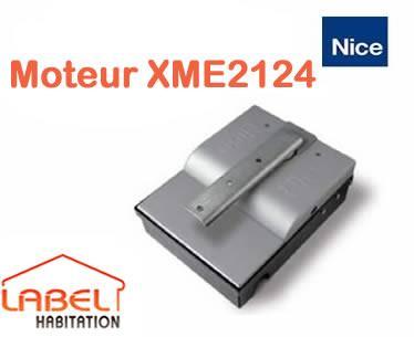 moteur seul nice xme2124 pour portail battant comparer les prix de moteur seul nice xme2124 pour. Black Bedroom Furniture Sets. Home Design Ideas