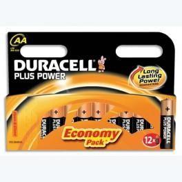 DURACELL BLISTER DE 12 PILES 2LR6 PLUS BLISTER D CLICK +CCR