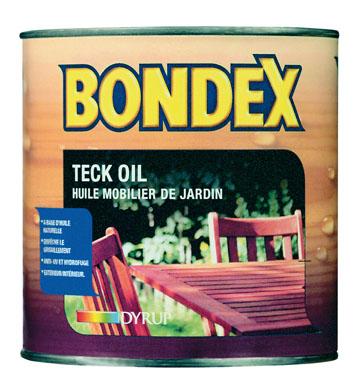 HUILE DE TECK - BONDEX TECK OIL