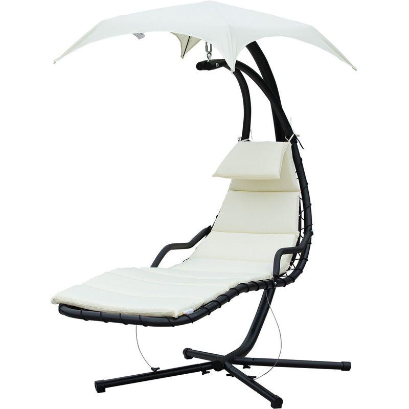chaise longue outsunny achat vente de chaise longue. Black Bedroom Furniture Sets. Home Design Ideas