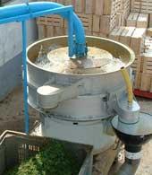 Filtres d'eaux usees recycleurs vibrants type fit ou minifit