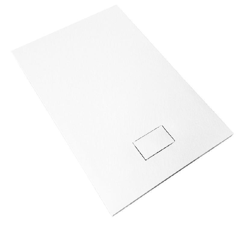 Receveur de douche 80 x 120 cm extra plat piatto en solicast surface ardois e rectangulaire - Receveur de douche 80 120 ...