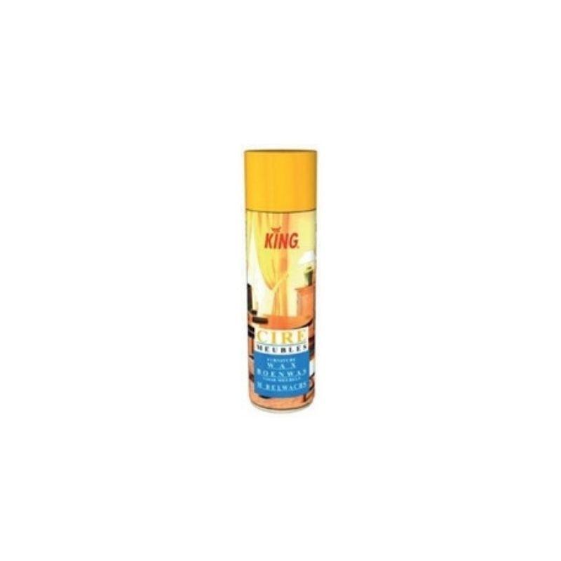 Topcar - aérosol cire claire 500ml - king - po567