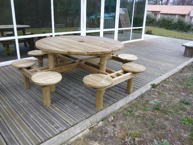 Tables publiques | tables, pique-nique, extérieures ...