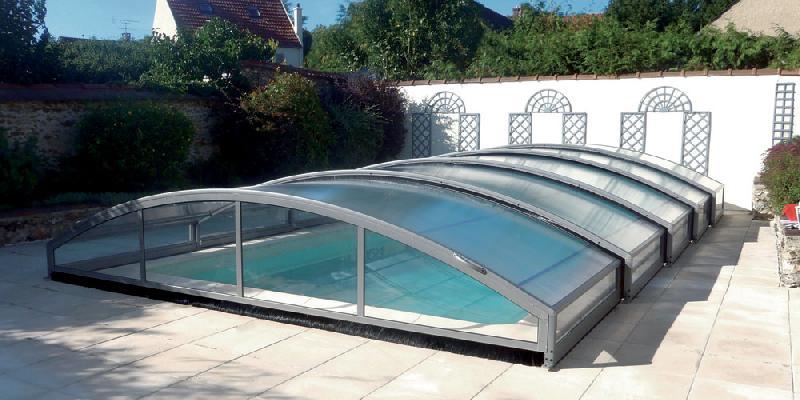 Abri piscine bas for Prix piscine 5x10