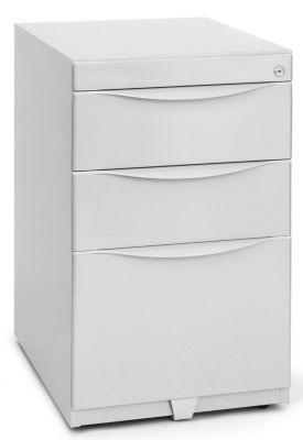 Bisley caisson fixe en acier 2 tiroirs 1 tiroir pour dossiers suspendus gris clair comparer - Caisson 2 tiroirs dossiers suspendus ...