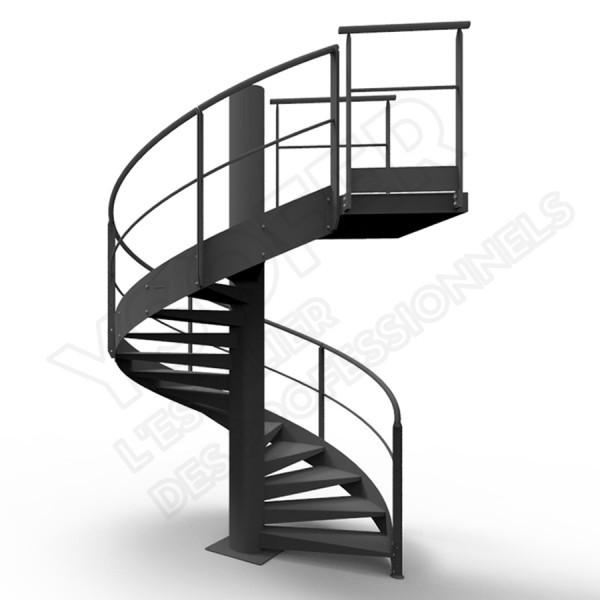 escaliers helicoidaux tous les fournisseurs escalier. Black Bedroom Furniture Sets. Home Design Ideas