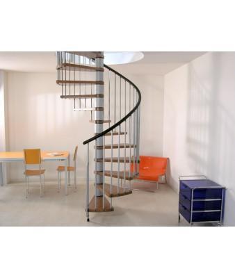 escalier helicoidal sous sol
