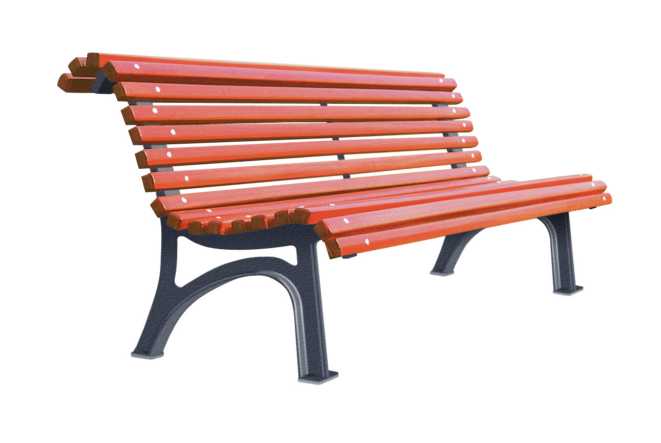 Banc plaza for Banc de jardin plastique