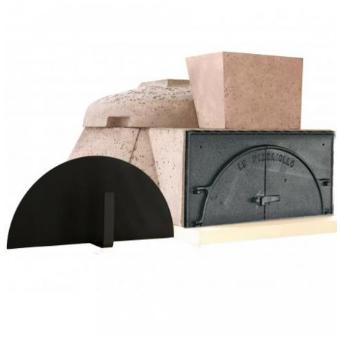 fours a pizza four le pizzaiollo porte fonte double battant. Black Bedroom Furniture Sets. Home Design Ideas