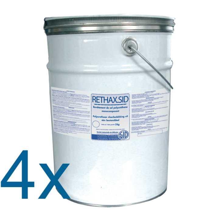 Revêtement de sol polyuréthane monocomposant rethax.sid