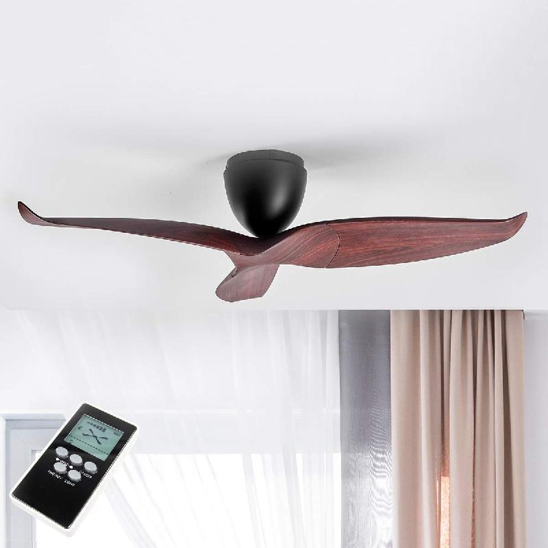 ventilateurs plafonniers comparez les prix pour. Black Bedroom Furniture Sets. Home Design Ideas