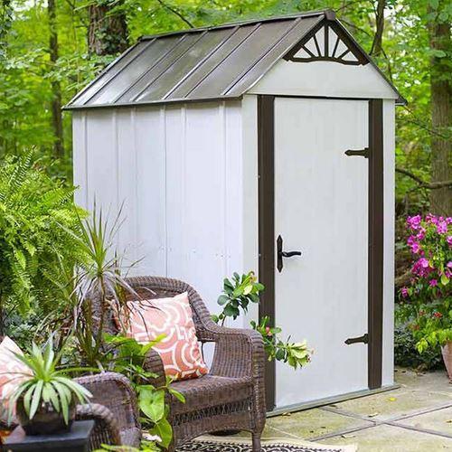 Abri de jardin luxe double pente dsm 46 comparer les prix - Abri de jardin 1 pente ...