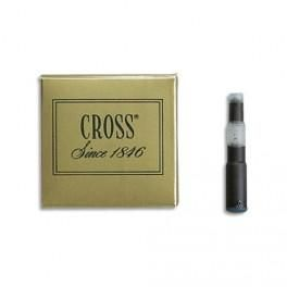 CROSS RECHARGE POUR ROLLER POINTE MOYENNE ENCRE BLEUE