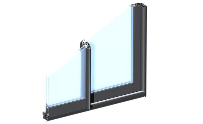 Fenetre en aluminium gamme toundra for Fenetre en aluminium