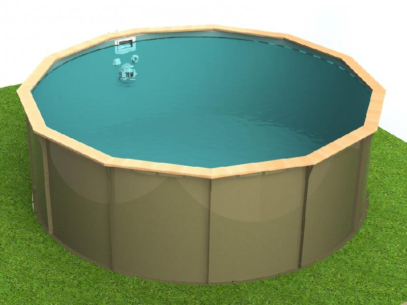 Piscine en kit hors sol piscine hors sol en kit ecolo kit for Prix piscine en kit