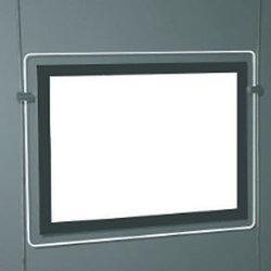 Porte affiche led selection achat vente de porte for Porte affiche exterieur