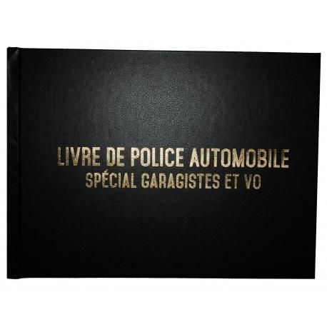 registre sp cial garagistes et vo livre de police automobile comparer les prix de registre. Black Bedroom Furniture Sets. Home Design Ideas