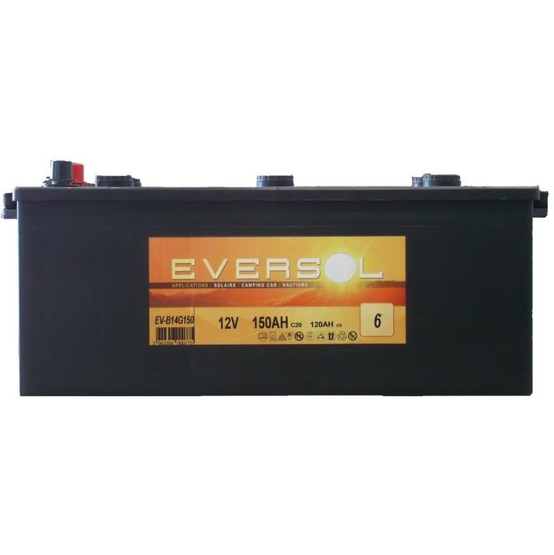 Batterie solaire eversol achat vente de batterie - Batterie decharge lente comparer les prix ...