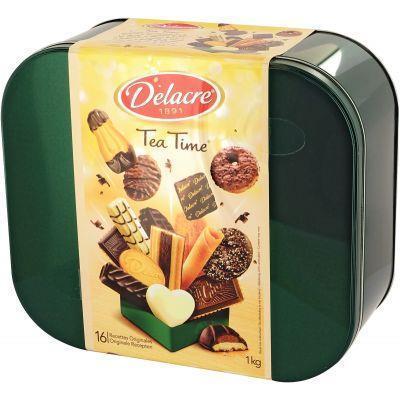 Biscuits tea time delacre 1kg