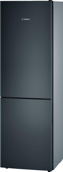 bosch refrigerateur combine confort kgv36vb32s kgv 36 vb 32 s noir. Black Bedroom Furniture Sets. Home Design Ideas