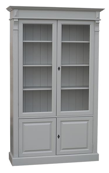 meuble vitrine en pin massif 2 portes l 119 cm 39 39 tivoli 39 39 comparer les prix de meuble vitrine en. Black Bedroom Furniture Sets. Home Design Ideas