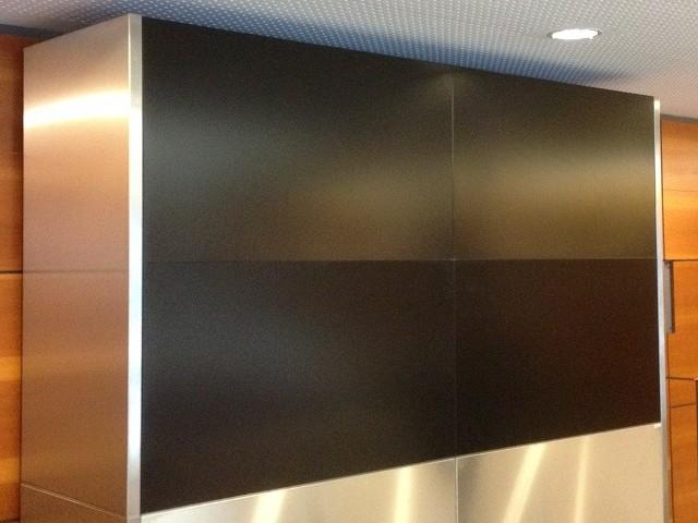 Mur d'image 2x2 fixe
