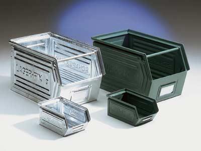 Bacs en métal