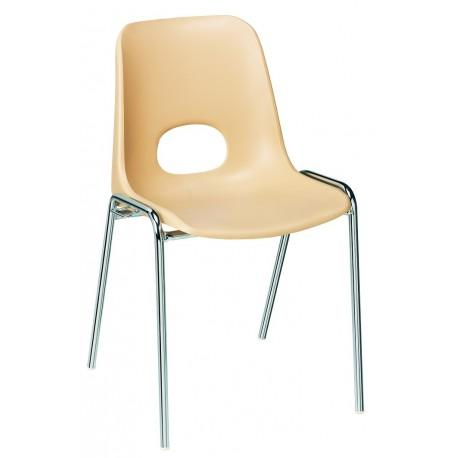 Chaise Coque Plastique Empilable Bologne