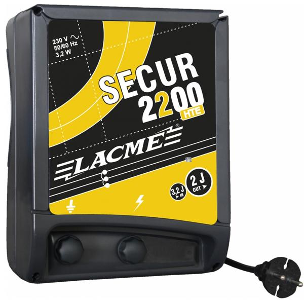 ELECTRIFICATEUR LACMÉ SUR SECTEUR SECUR 2200 HTE 2 JOULES