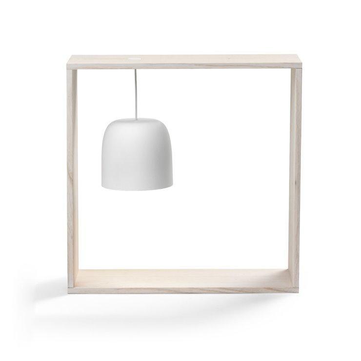 Poser Led Polycarbonatebois Noir Gaku Lampe Flos H35cm Wire À 8kNn0OXPwZ