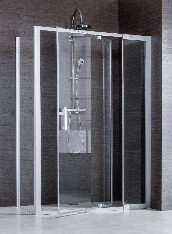 porte de douche pivotante jazz a axe excentre acces de face pour receveurs de 96 116cm. Black Bedroom Furniture Sets. Home Design Ideas